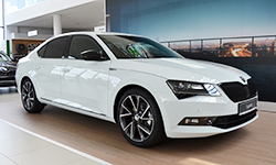 skoda superb sportline mini
